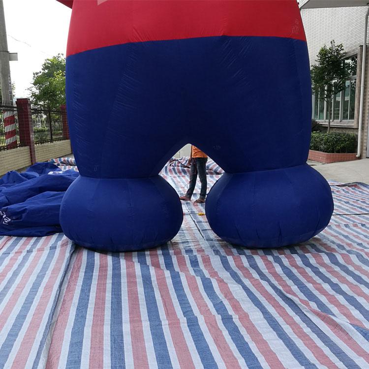 专业的充气卡通|专业大型广告气模猩猩卡通气模 就找东莞市小牛充气模型