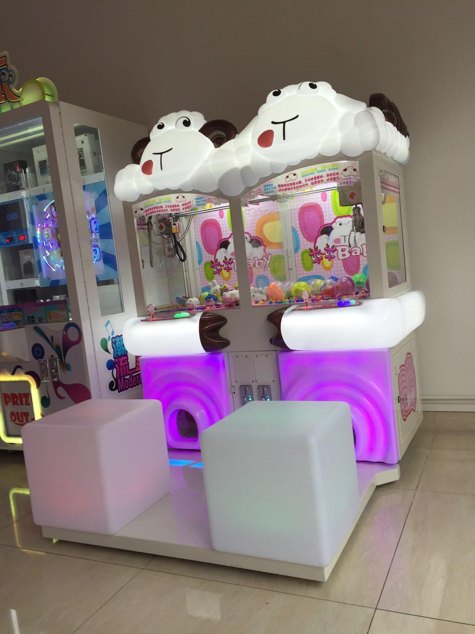 娃娃机 新式的羊羊baby夹公仔游戏机推荐