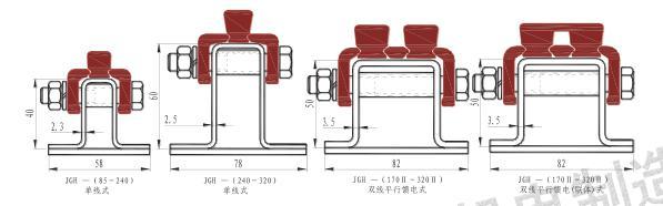 中国JGH系列铜导体拼装式复合刚体滑触线-上海市优惠的JGH系列铜导体拼装式复合刚体滑触线供销