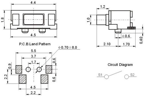 質量好的側按輕觸開關2|4系列要到哪買|價位合理的側按輕觸開關2|4系列
