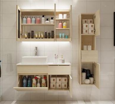 专业的北欧风格简约现代浴室柜组合洗脸盆洗手盆卫生间洗漱台卫浴柜台盆