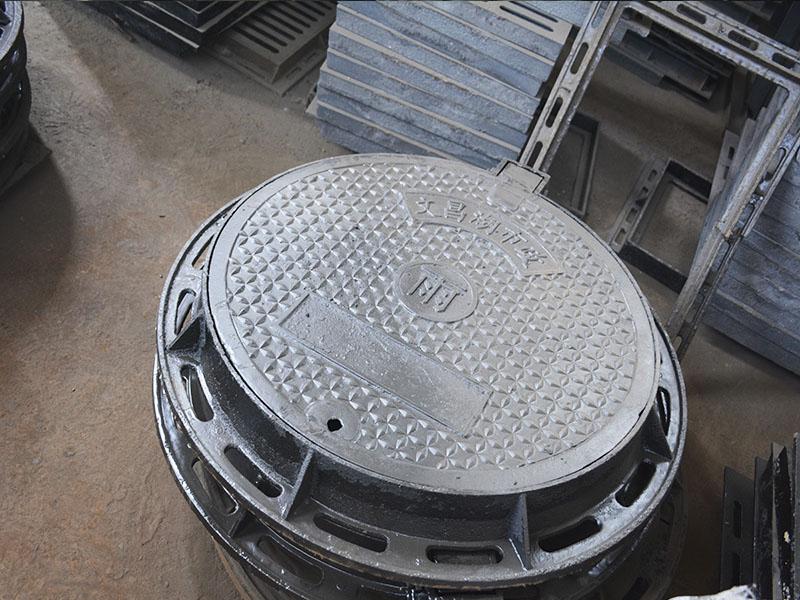 圆形球墨铸铁井盖_哪里有卖质量好的铸铁井盖