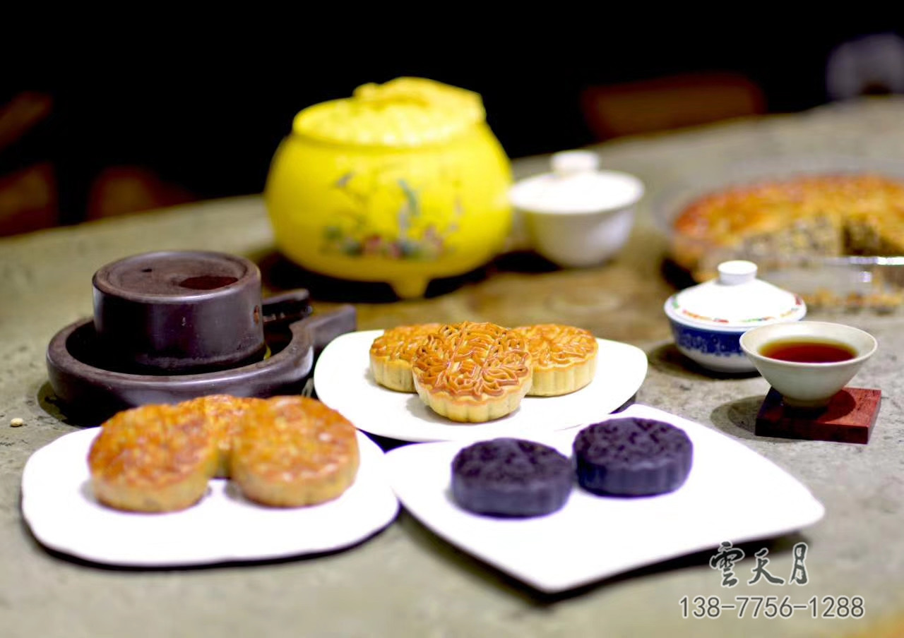 广西月饼玉林云天食品专业供应 钦州月饼团购