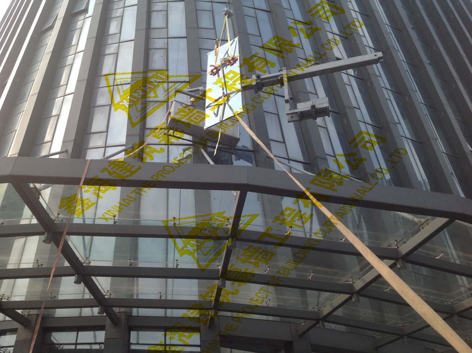 广州鑫海建筑幕墙工程供应价格划算的幕墙玻璃安装,幕墙玻璃公司