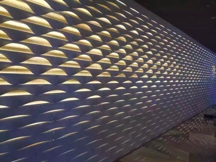 耐用的冲孔铝单板吊顶当选北京东南九牧铝业,造型冲孔铝单板