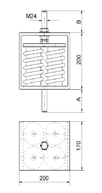 山东减震器——苏州哪里有优质的吊架弹簧减震器供应