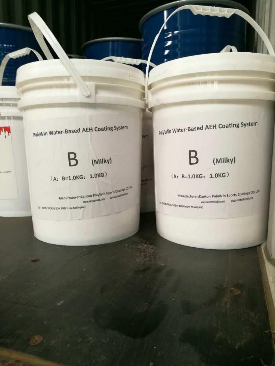广州宝力威AEH水性树脂地坪知名供应商——推荐丙烯酸球场