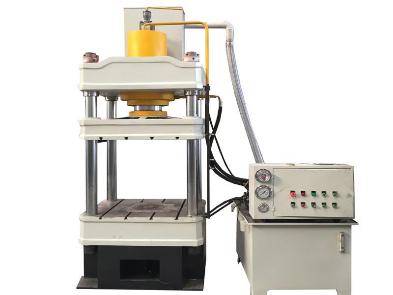 塑料花盆成型油压机 63吨液压机 小型四柱三梁液压机