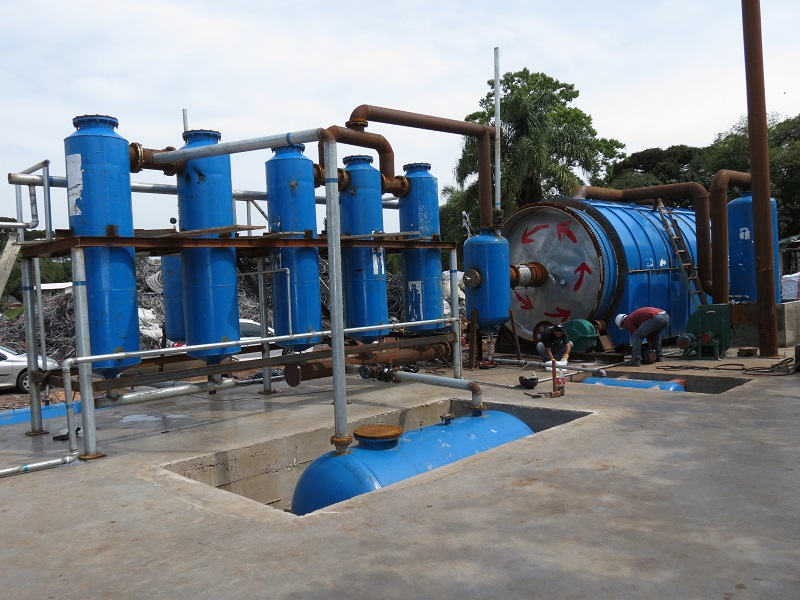 南阳废轮胎炼油 河南划算的环保小型炼油设备