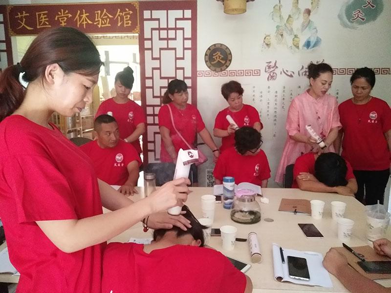 安徽艾灸培训班-信誉良好的艾灸培训加盟就在艾医堂中医研究院