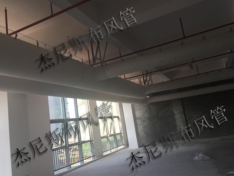 厂家直销广东纤维风管 优惠布袋风管