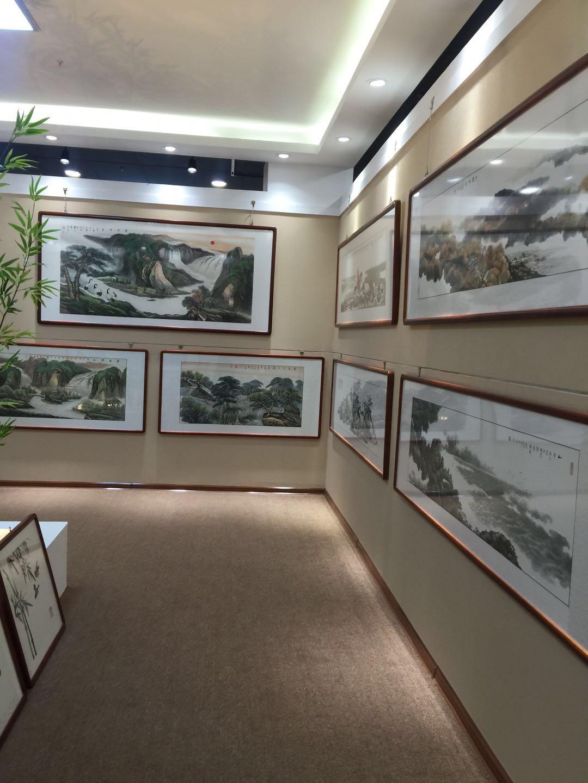 石家庄刘京和山水字画定制出售