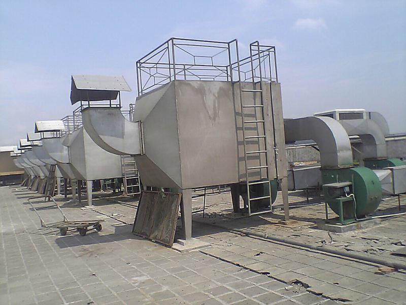 塑料厂废气处理