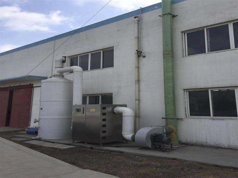河南電鍍廠廢氣處理 想買口碑好的噴漆房廢氣處理設備,就來東高涂裝