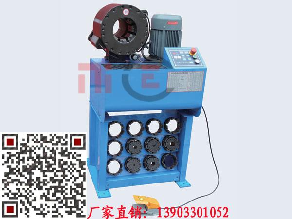 【厂家推荐】质量良好的胶管扣管机动态_北京胶管扣管机