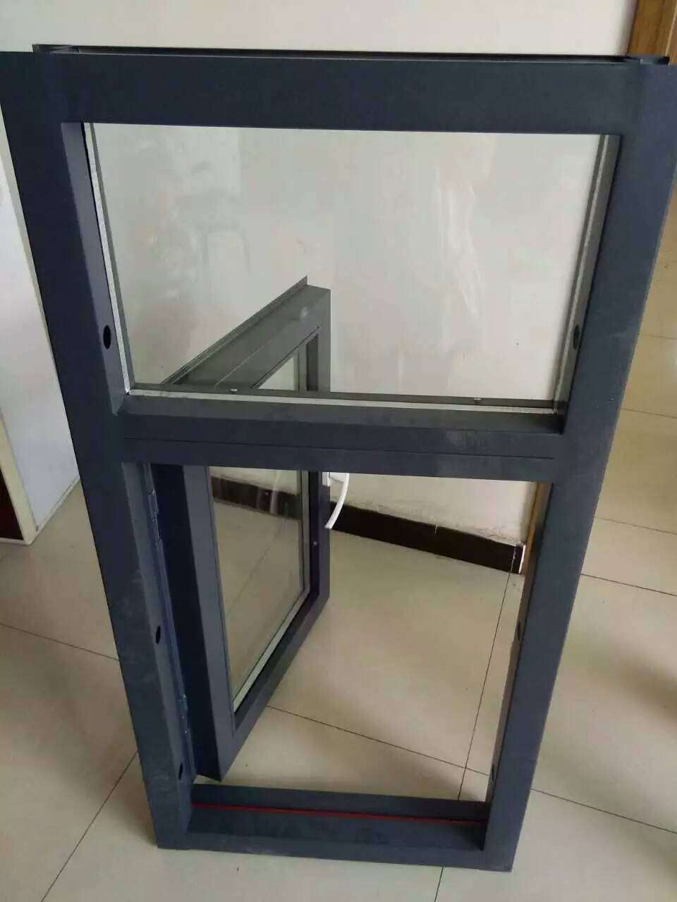 盛安门窗的铝合金防火窗好不好,爆款防火窗厂家