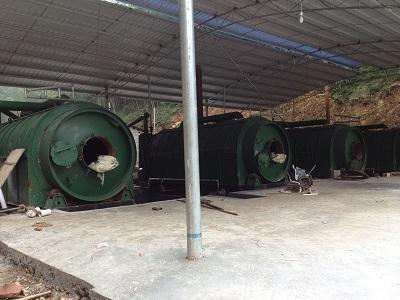 油泥轮胎塑料炼油交易价格|油泥炼油设备低价批发
