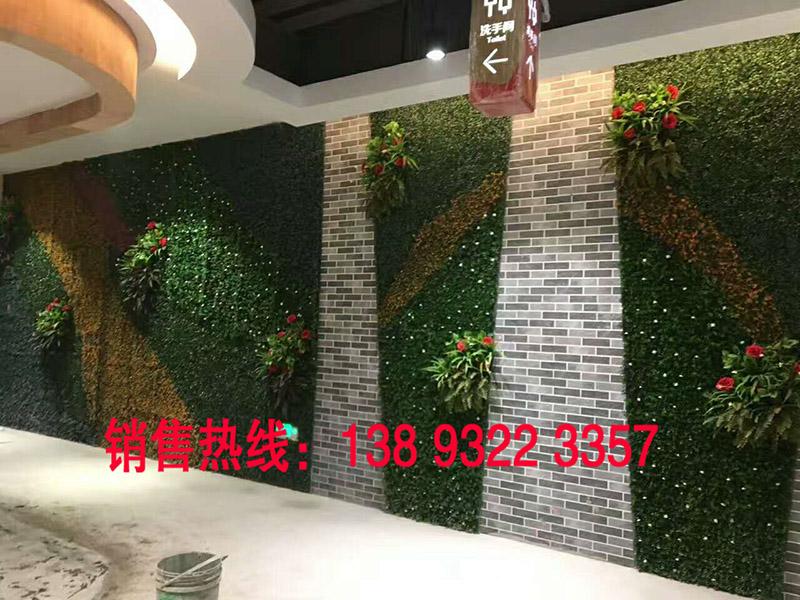 甘肃仿真植物背景墙,兰州仿真植物背景-慧森供应仿真植物背景墙