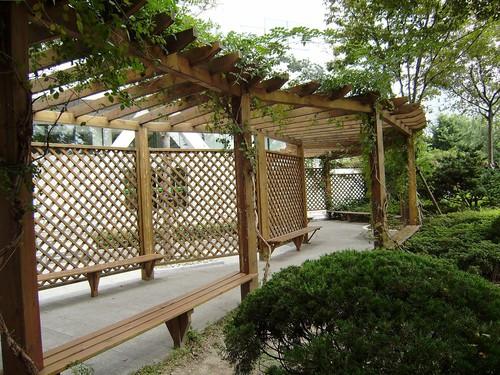 绿城伟业园林景观工程实用的新疆防腐木花架供应-新疆古建筑设计