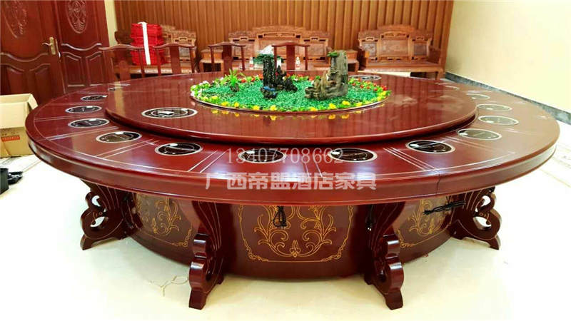 供应广西帝盟家具品质有保障的广西电动餐桌_南宁电动餐桌