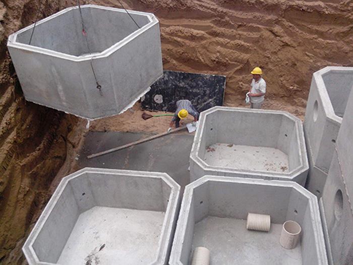 化糞池生產廠 定邊鋼筋砼化糞池
