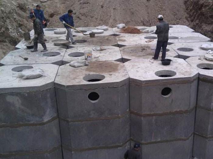 【供銷】寧夏價格優惠的化糞池——固原鋼筋砼化糞池