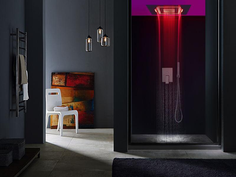物超所值的LED暗装花洒优选乐浴卫浴 四川市淋浴房尺寸