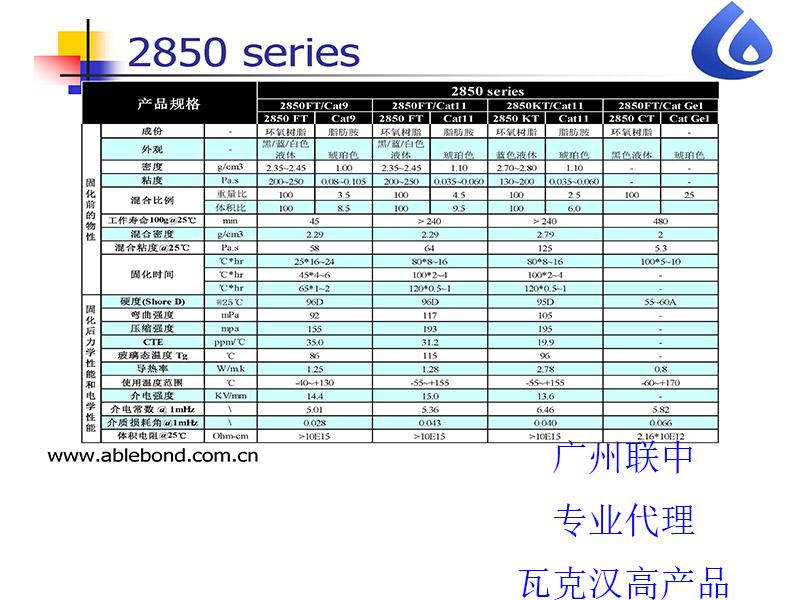 广州划算的柔性导热胶Stycast 2850CT-2850CT/catalyst Gel