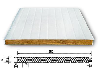 银川优良岩棉夹芯板厂商|宁夏岩棉夹芯板价格