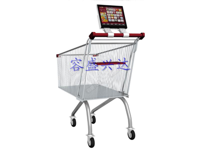 深圳优质超市手推车广告机制作 广西超市手推车广告机