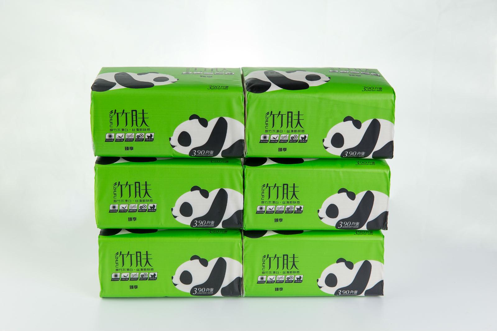 心语纸业供应价位合理的竹肤本色抽纸_抽纸批发