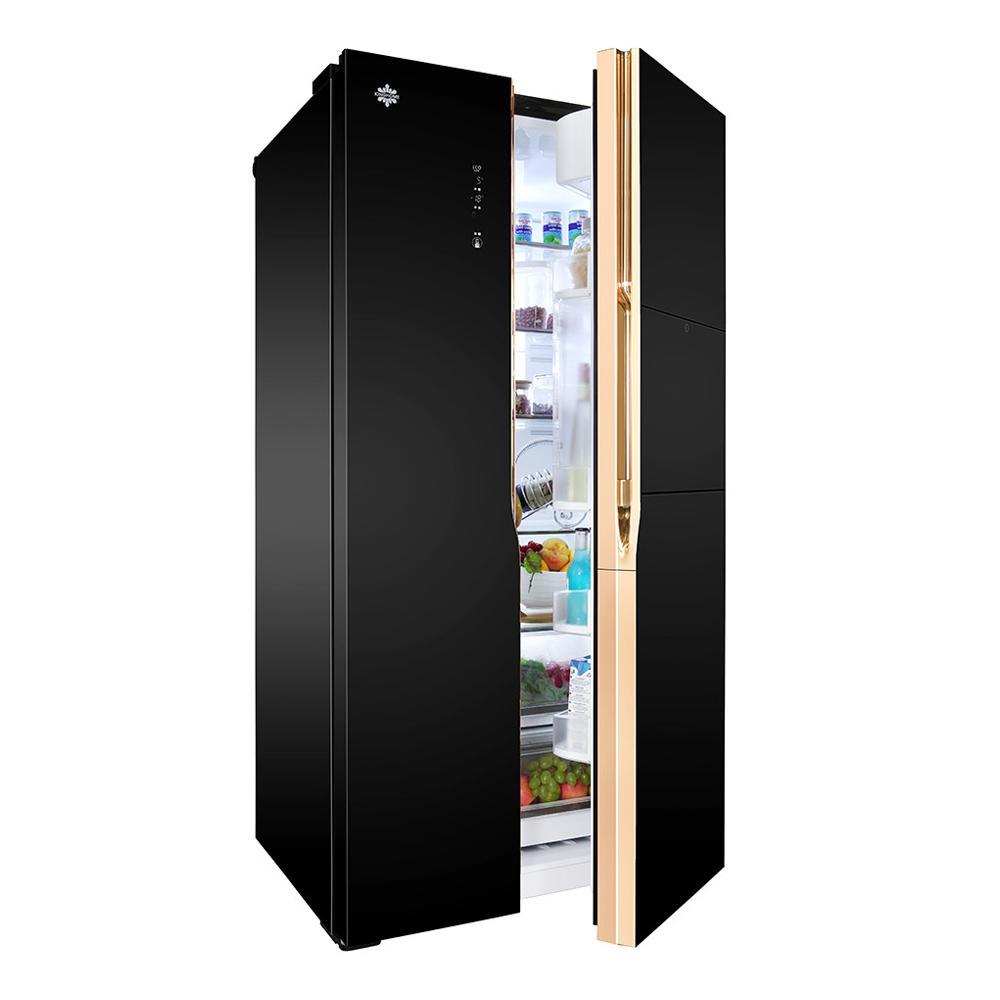 报价合理的对开门冰箱广州瑞雪制冷设备供应|电冰箱对开门批发