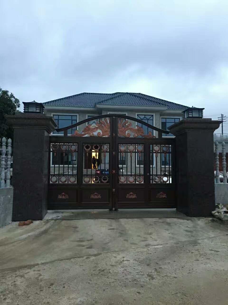 湘潭铝艺庭院门哪家比较好——铁艺门