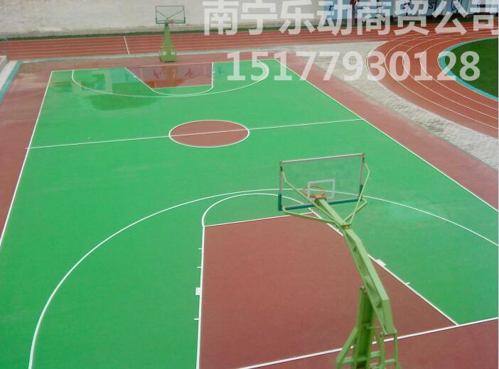 北海篮球场施工,品牌好的南宁丙烯酸篮球场在哪有卖