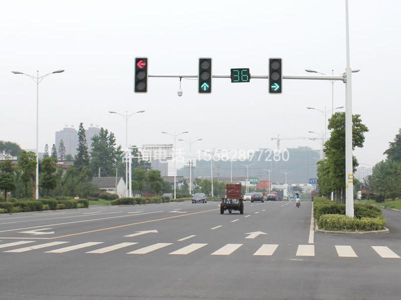 甘肃鲁星户外照明提供的交通信号杆好不好_菏泽交通信号杆