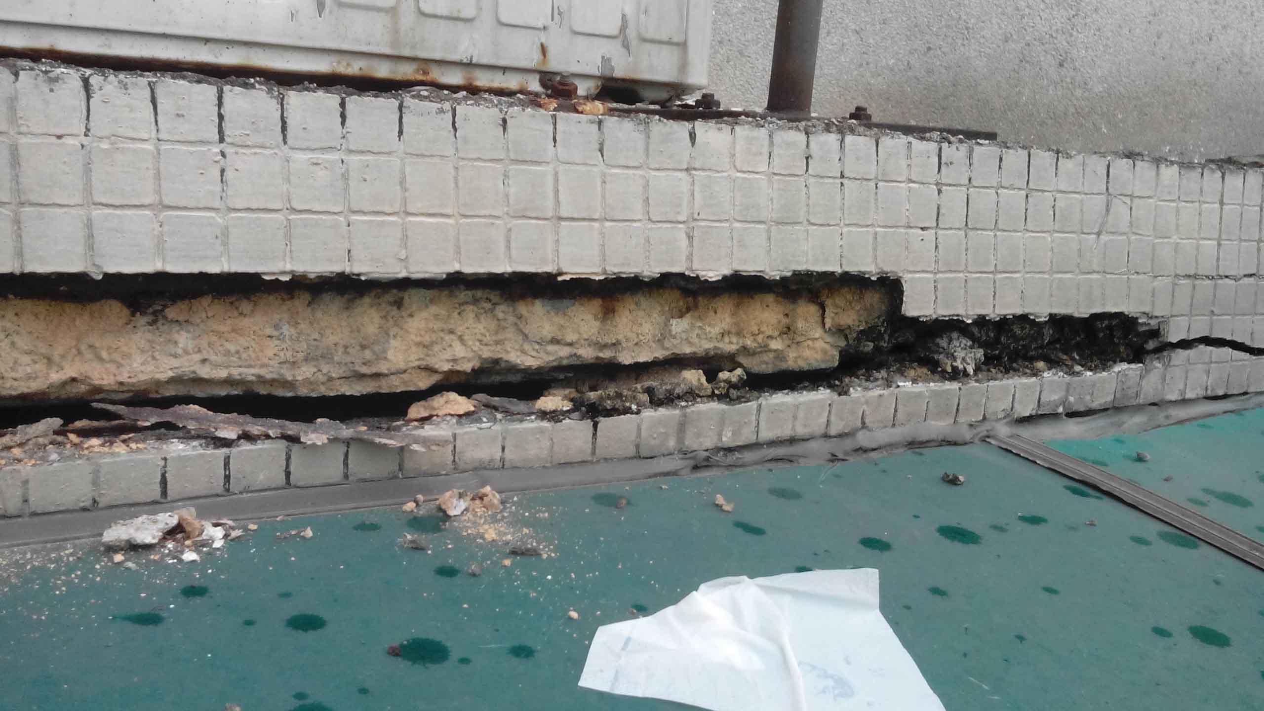 广州外墙空鼓开裂脱落维修