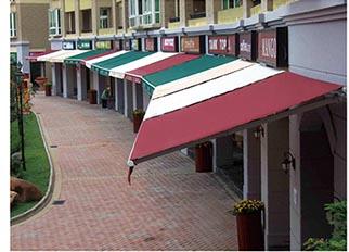 德州铝合金雨棚_专业的遮阳篷供应商_泰顺消防设备公司