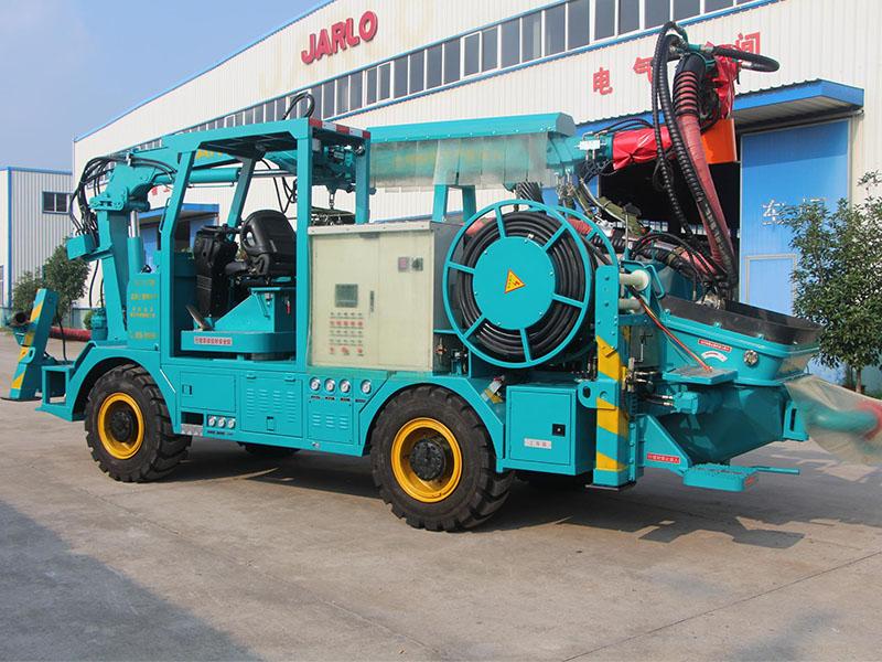 云南混凝土湿喷机优质-厂家直销安徽HSC-2513系列砼湿喷台车