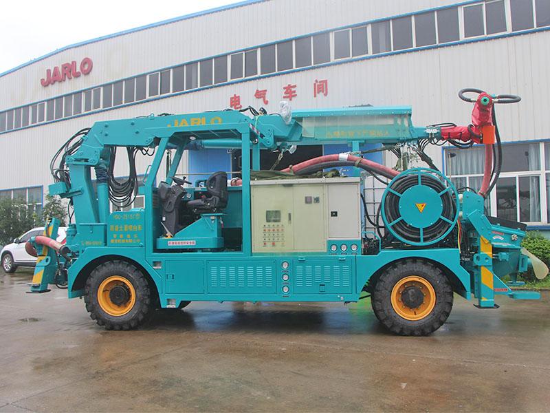 四川混凝土湿喷机哪家好-物超所值的HSC-2515系列湿喷台车佳乐建设机械供应