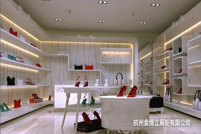 杭州展柜定做廠家-買浙江服裝展柜就來杭州金博立展柜公司