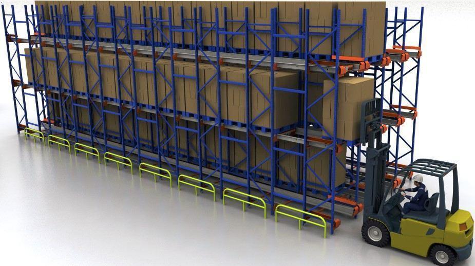 穿梭式货架供货厂家-威远达仓储设备专业生产穿梭式货架
