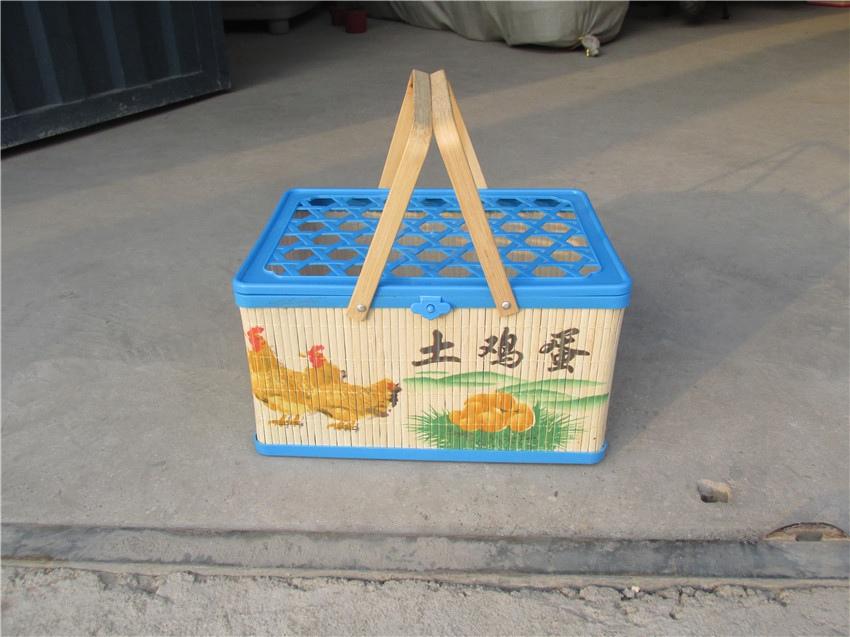 临沂优良的塑料竹编鸡蛋蓝供销_纸绳鸡蛋蓝找哪家