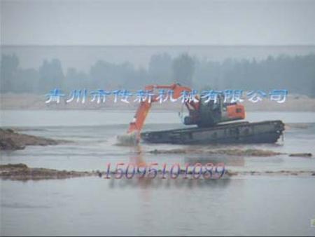 水陆两用挖掘机-潍坊优良的水陆挖掘机出售