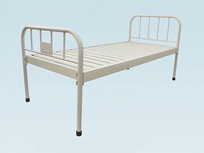 钢制床头条式平板床厂家——德盛医疗器械供应好的不锈钢医用床