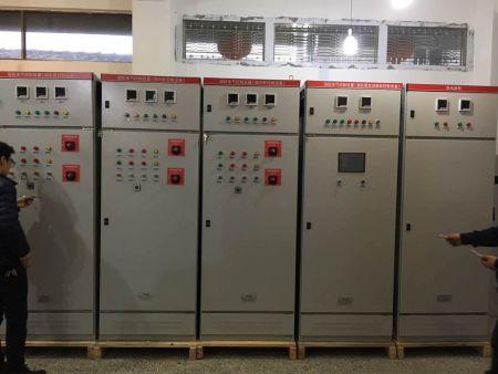 消防泵控制柜与消防巡检柜之间如何连接