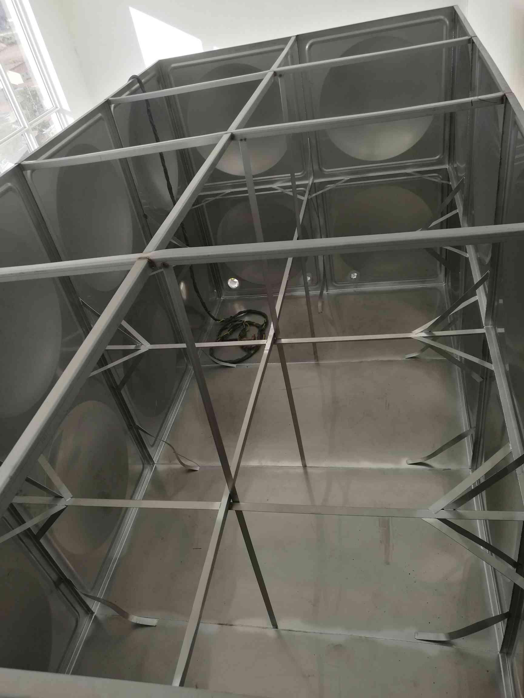 """【抢""""鲜""""一步】山东菏泽工程用不锈钢水箱供应+菏泽不锈钢方形"""