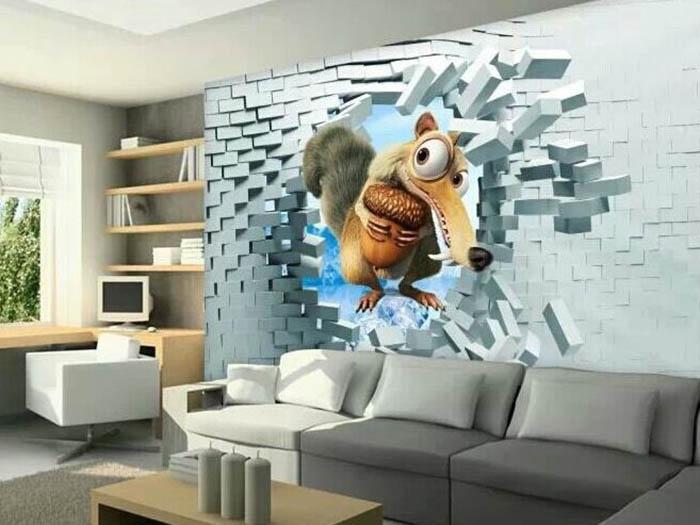 银川3D背景墙 宁夏3D背景墙价格 宁夏3D背景墙_多维饰界