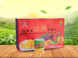 金康福食品供应报价合理的水果罐头_黄桃罐头加工