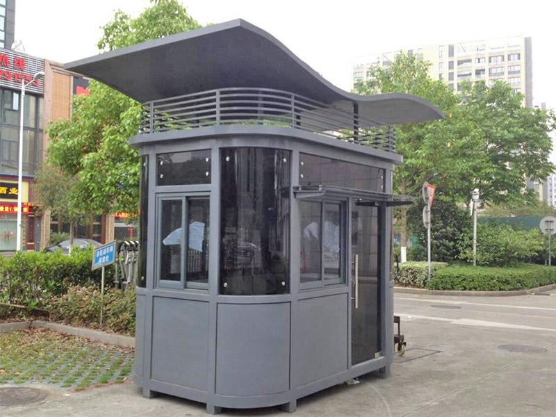 吉林钢结构保安岗亭|上海市新款钢结构保安岗亭批销