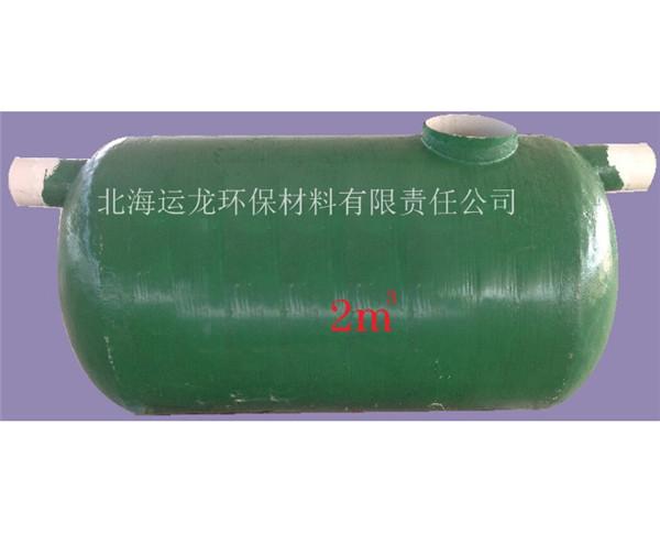 广西农村厕所改造建设_玻璃钢化粪池当选北海运龙环保材料